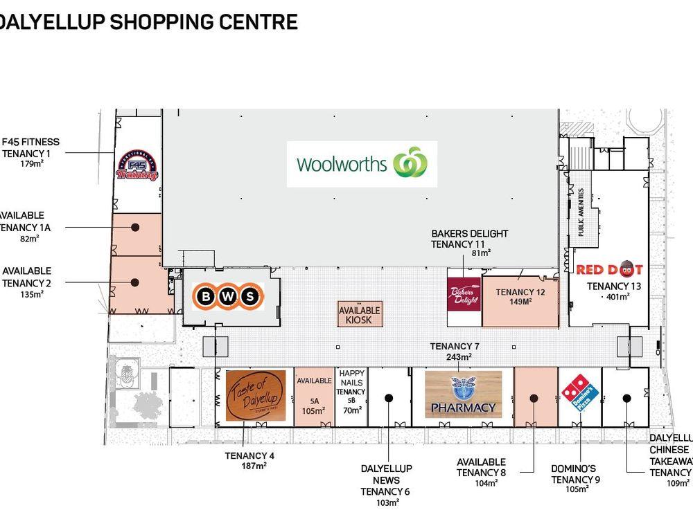 Dalyellup Shopping Centre, Lot 50001 Tiffany Centre